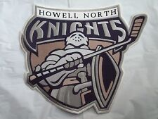 """Francis Howell North Knights of St. Peters, MO Logo 14""""x10""""Jacket Iron-On Patch"""