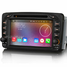 "7"" Car DVD GPS WiFi 3G 4-Core Android 5.1 For Benz C Class W203 CLK W209 ES4507B"