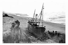 pt4645 - Withernsea wreck of the Trawler Leonora 1905 , Yorkshire - photo 6x4