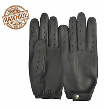 PREMIUM QUALITY CHAUFFEUR MOTORBIKE BIKE CAR POLICE LEATHER RETRO DRIVING GLOVES