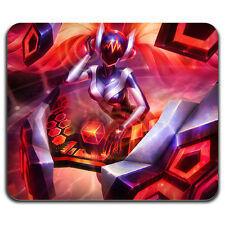 New Hot DJ Sona Ethereal League of Legends LOL Sexy Girl Red Gamer Mouse Pad Mat