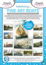 72 FINE ART SHIP CARDS by RENOWNED DAVID WORRELL, JUST 29p, wrapped, 12 designs.