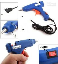 HOT MELT GLUE GUN TRIGGER ELECTRIC ADHESIVE STICKS FOR HOBBY CRAFT MINI DIY