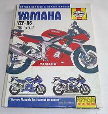 Reparaturanleitung Repair Manual Yamaha YZF-R6 1999 - 2002