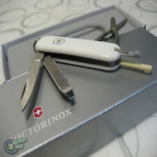 【v062237】Victorinox Swiss Army Knife 58mm Classic White 7 Function Pocket Tool