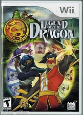 Legend of the Dragon  (Nintendo Wii, 2007) Factory Sealed