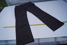 CAMBIO Jeans Norah Straight Damen Hose stretch stretchjeans Gr.40 dunkelbraun