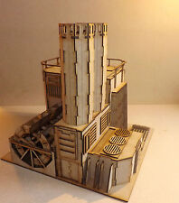 Industry building Hydrocarbon power plant warhammer 40k wargame Infinity scenery