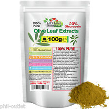 100g (3.53oz) Olive Leaf Powder Extract - 20% Oleuropein - FREE Shipping