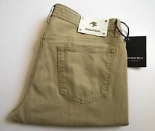 $1860 STEFANO RICCI Crocodile Alligator Trim Jeans Pants Slacks 38 US 54 Euro