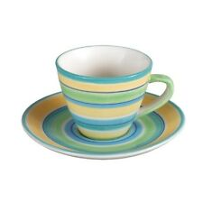 Andrea by Sadek Porcelain Tea Cup & Saucer Set  BEACH HOUSE