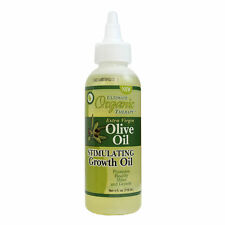 ULTIMATE ORGANIC THERAPY Extra Virgin Olive Oil Stimulating Growth Hair Oil 4oz