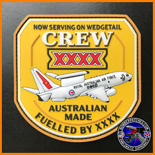 E-7A WEDGETAIL CREW XXXX PVC Morale PATCH, ROYAL AUSTRALIAN AIR FORCE Full Color
