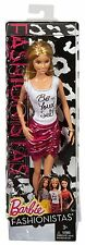 BARBIE FASHIONISTAS BE YOUR SELF T-SHIRT  CFG12 *NEW*