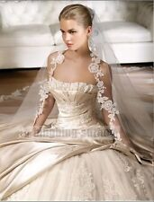 2014 White/ivory Wedding Dress/Bridal Gown Custom Size 2- 4-6-8-10-12-14-16-18++