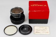 【RARE MINT in BOX】 Zenza Bronica Nikkor-H 50mm F/3.5 Lens from Japan #1212