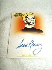 Star Trek Autograph Card Animated Sean Kenney as Captain Pike A31