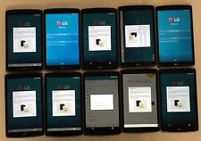 LOT #101 OF 10 DEFECTIVE LG G Pad V495 16 Silver WiFi + 4G AT&T Tablets