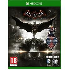 Batman Arkham Knight + Harley Quinn DLC for XBox One Brand NEW & Sealed UK PAL
