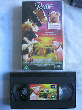 BABE VHS VIDEO. Cert. U. Family. James Cromwell. Pig.