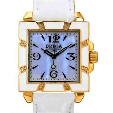 DEDIA Lily LQ Women's Diamond Mother-of-Pearl Brand New Watch List- $1,650