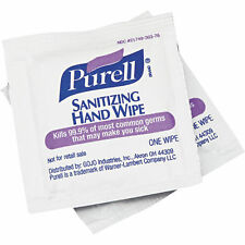 PURELL 9022 Hand Sanitizing Wipes, White, PK 100