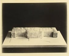 Vintage ORIGINAL 1960's Maquette Photograph CHRISTO Art / WRAPPED ROME GALLERY