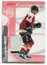 2000-01 BAP Signature Series Jersey In the Numbers 35 Valeri Bure Patch /10