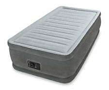 Intex Comfort Plush Elevated Dura-Beam Airbed with Built-in Electric Pump, Twin