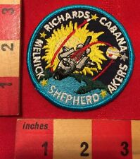 NASA PATCH ~ STS-41 SPACE SHUTTLE DISCOVERY LAUNCHED ULYSSES PROBE CABANA AKERS