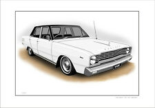 VALIANT  VE   VIP  V8   SEDAN      LIMITED EDITION CAR PRINT AUTOMOTIVE ARTWORK