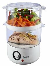 Oster Steamers CKSTSTMD5-W 5-Quart Food Steamer, White