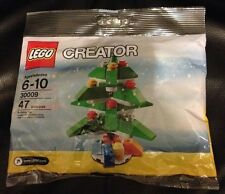New in bag LEGO Creator Christmas Tree 30009 ages 6-10 gift toy stocking stuffer