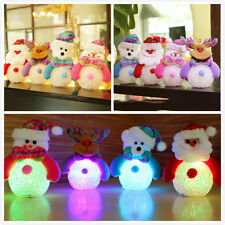 Santa Claus Christmas Xmas Color Changing LED Light Lamp Home Party Decoration