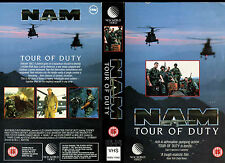 NAM Tour Of Duty - Terence Knox - Used Video Sleeve/Cover #16291
