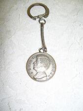 JOHN F KENNEDY COIN KEY RING ASK NOT WHAT.......