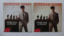 ETIENNE DAHO Tombé pour la France Pochettes différentes 90180