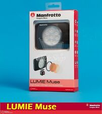 Manfrotto Lumie Muse On-Camera 8 LED Light (Black) Mfr # MLUMIEMU-BK