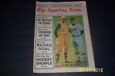 1967 Sporting News CHICAGO White Sox EDDIE STANKY Kansas City A's ALVIN DARK