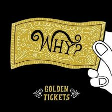 Golden Tickets [EP] [Digipak] by Why?/Why? (CD, Sep-2013, Joyful Noise (Ind...