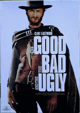 THE GOOD THE BAD AND THE UGLY -  CLINT EASTWOOD - (2) DVD SET WITH SLIP COVER