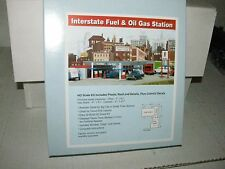 Walthers Cornerstone HO scale 933-3035 Interstate Fuel & Oil Gas Station