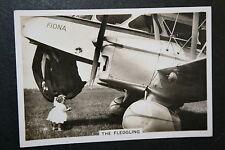 De Havilland Dragon Moth  ##    Vintage Photo Card