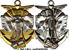 E.F.A.O, éléphant, défenses argentées, plein, petites lettres, F.I.A 2970 (0004)