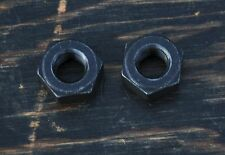 "5/16"" 24tpi Standard Rat Rod AXLE NUTS Bike Frt Hubs Vintage Prewar Tank Bicycle"