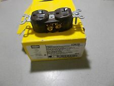 NEW Hubbell 5362B Brown 20A Duplex Receptacle  *FREE SHIPPING*