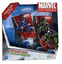 Marvel Universe Figures S1 - 2 Pack Cards - Spiderman & Green Goblin - 33283