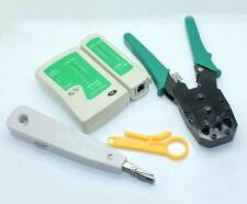 5 In 1 LAN Network Tool Cable Tester Crimp Crimper Plug Pliers Wire Cutter RJ45