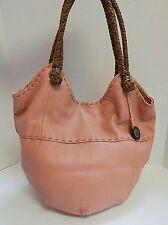 The Sak Dusty Rose Pink Leather Hobo Shoulder Bag