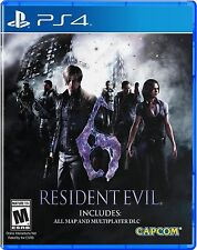 PS4 Game Resident Evil 6 HD NIP Playstation 4 Package shipping